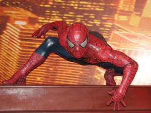 Wax Spiderman